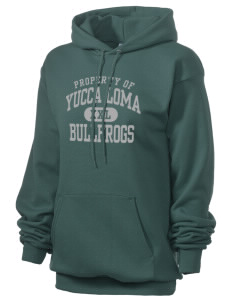 Yucca Loma Elementary School Bullfrogs Unisex 7.8 oz Lightweight Hooded Sweatshirt