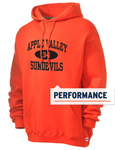 Apple Valley High School Sundevils Russell Men's Dri-Power Hooded Sweatshirt