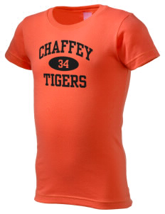 Chaffey High School Tigers  Girl's Fine Jersey Longer Length T-Shirt