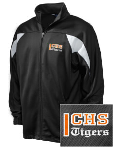 Chaffey High School Tigers Embroidered Holloway Men's Full-Zip Track Jacket