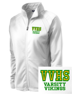 Valley View High School Vikings Embroidered Women's Tricot Track Jacket