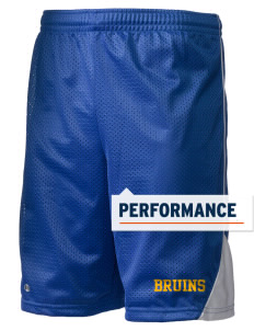 "Bloomington High School Bruins Holloway Men's Possession Performance Shorts, 9"" Inseam"