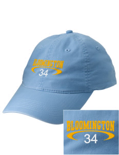 Bloomington High School Bruins Embroidered Vintage Adjustable Cap