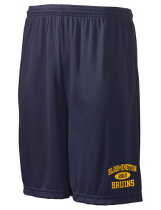 "Bloomington High School Bruins Men's Competitor Short, 9"" Inseam"