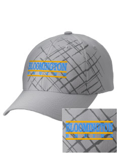 Bloomington High School Bruins Embroidered Mixed Media Cap