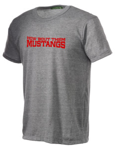 Morongo Valley Elementary School Mustangs Alternative Men's Eco Heather T-shirt