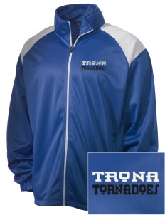 Trona Elementary School Tornadoes Embroidered Men's Tricot Track Jacket