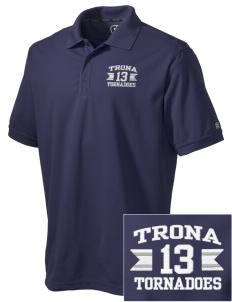 Trona High School Tornadoes Embroidered OGIO Men's Caliber Polo