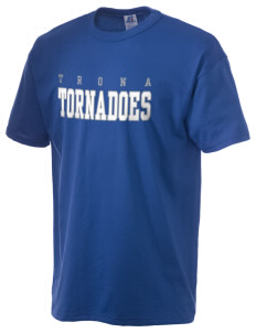 Trona High School Tornadoes  Russell Men's NuBlend T-Shirt