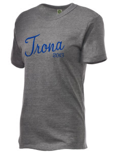 Trona High School Tornadoes Embroidered Alternative Unisex Eco Heather T-Shirt