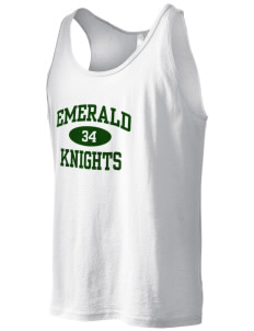 Emerald Middle School Knights Men's Jersey Tank