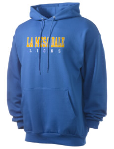 La Mesa Dale Elementary School Lions Men's 7.8 oz Lightweight Hooded Sweatshirt