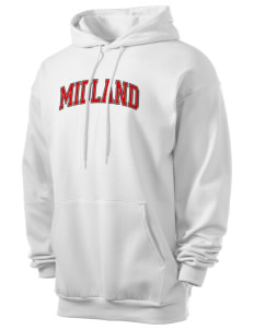 Midland Elementary School Rattlers Men's 7.8 oz Lightweight Hooded Sweatshirt
