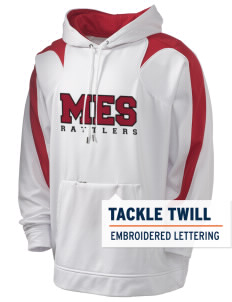 Midland Elementary School Rattlers Holloway Men's Sports Fleece Hooded Sweatshirt with Tackle Twill