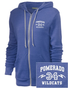 Pomerado Elementary School Wildcats Embroidered Alternative Unisex The Rocky Eco-Fleece Hooded Sweatshirt