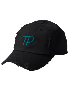 Twin Peaks Middle School Rams Embroidered Distressed Cap