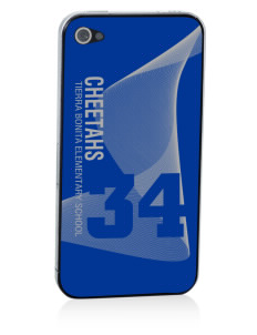 Tierra Bonita Elementary School Cheetahs Apple iPhone 4/4S Skin