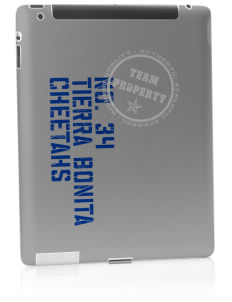 Tierra Bonita Elementary School Cheetahs Apple iPad 2 Skin