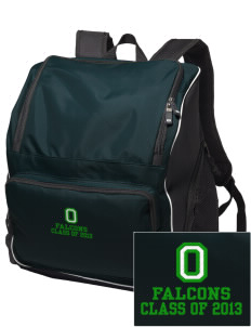 Olive Elementary School Falcons Embroidered Holloway Backpack