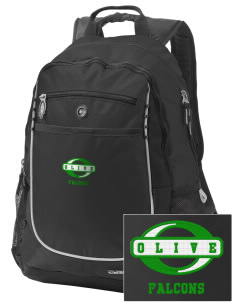Olive Elementary School Falcons Embroidered OGIO Carbon Backpack