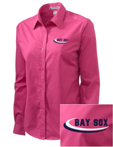 Bay Sox Sox Embroidered Women's Easy-Care Shirt