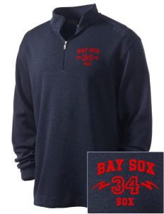 Bay Sox Sox Embroidered Nike Men's Golf Heather Cover Up