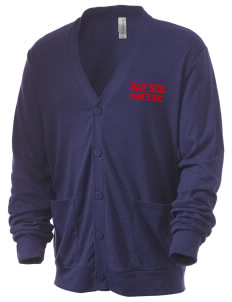 Bay Sox Sox Men's 5.6 oz Triblend Cardigan