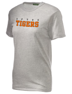 Aptos Middle School Tigers Alternative Unisex Eco Heather T-Shirt