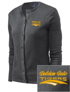 Golden Gate Elementary School Tigers Embroidered Women's Cardigan Sweater
