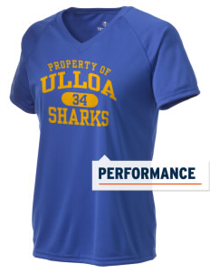 Ulloa Elementary School Sharks Holloway Women's Zoom Performance T-Shirt