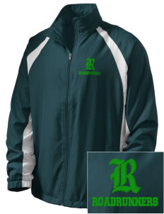 Farmington Elementary School Roadrunners  Embroidered Men's Full Zip Warm Up Jacket