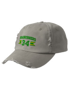 Farmington Elementary School Roadrunners Embroidered Distressed Cap