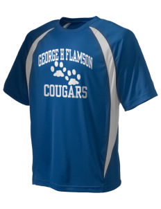 George H Flamson Middle School Cougars Champion Men's Double Dry Elevation T-Shirt