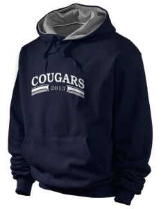 George H Flamson Middle School Cougars Champion Men's Hooded Sweatshirt