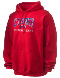 C L Smith Elementary School Super Stars Ultra Blend 50/50 Hooded Sweatshirt