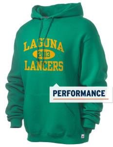 Laguna Middle School Lancers Russell Men's Dri-Power Hooded Sweatshirt