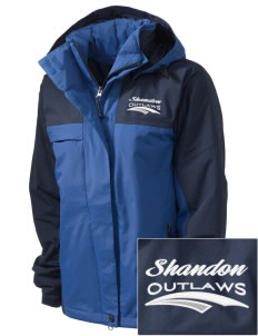 Shandon Senior High School Outlaws  Embroidered Women's Nootka Jacket