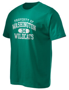 Washington Elementary School Wildcats Hanes Men's 6 oz Tagless T-shirt