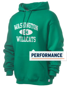 Washington Elementary School Wildcats Russell Men's Dri-Power Hooded Sweatshirt