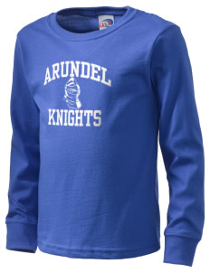 Arundel Elementary School Knights  Kid's Long Sleeve T-Shirt