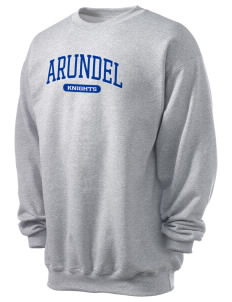 Arundel Elementary School Knights Men's 7.8 oz Lightweight Crewneck Sweatshirt