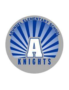 Arundel Elementary School Knights Sticker