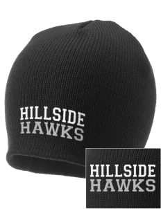 Hillside Elementary School Hawks Embroidered Knit Cap