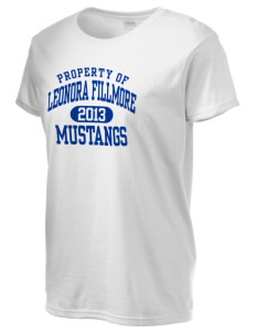 Leonora Fillmore Elementary School Mustangs Women's 6.1 oz Ultra Cotton T-Shirt