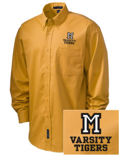 Morrill Middle School Tigers Embroidered Men's Easy-Care Shirt