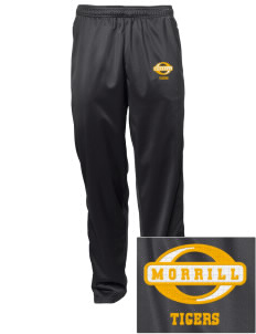 Morrill Middle School Tigers Embroidered Men's Tricot Track Pants