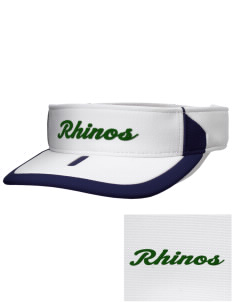 Samuel Curtis Rogers Middle School Rhinos Embroidered M2 Sideline Adjustable Visor