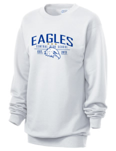 Central Continuation High School Eagles Unisex 7.8 oz Lightweight Crewneck Sweatshirt