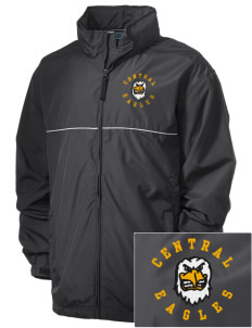 Central Continuation High School Eagles Embroidered Men's Element Jacket