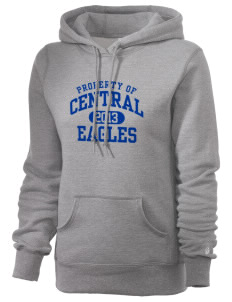 Central Continuation High School Eagles Russell Women's Pro Cotton Fleece Hooded Sweatshirt